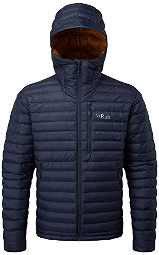 Mens Microlight Jacket - RAB Microlight Alpine Jacket - Men's Deep Ink/Footprint Large