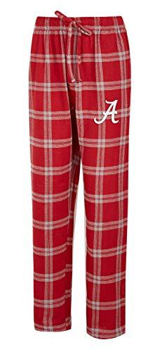 (Concepts Sport Alabama Crimson Tide Bama Men's Pajama Pants Plaid Pajama Bottoms (Large))