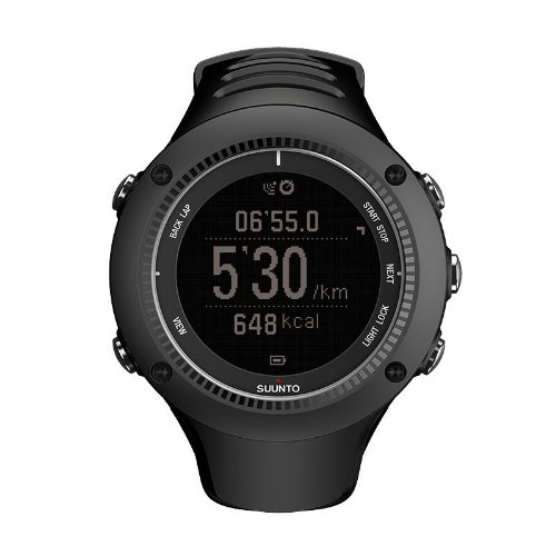 Suunto Ambit2 R GPS Heart Rate Monitor Black - HRM, One Size