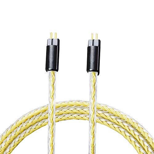 [해외]リケ?ブル 업그레이드 케이블 분리형 케이블 귀 탁상 형 0.78 mm 2Pin UE18 JH13 16 UM3X에 해당 8 조개 짠 마이크 없이 Woodhifi 78Y / Recable Upgrade Cable Detachable Cable Ear Hanging 0.78mm 2Pin UE18 JH13 16 UM3X Compatible 8-crotch Kn...