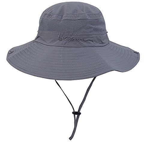 Senker Unisex Outdoor Bucket Mesh boonie Fishing Sun Hat