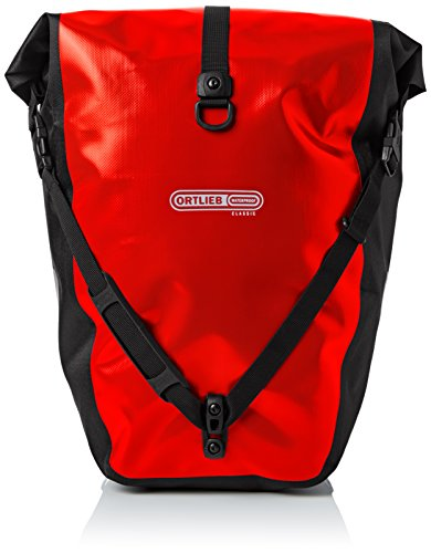 (Ortlieb Back Roller Classic Red-Black Panniers 2016)