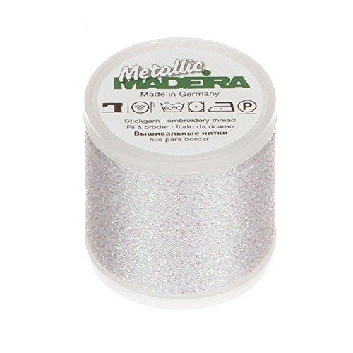 - Madeira 200 m Metallic Thread, White by Madeira