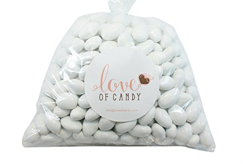 Love of Candy Bulk Candy - White Chocolate Almonds - 1lb Bag