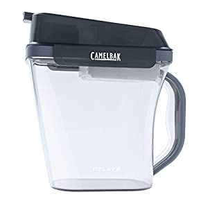 CamelBak Relay Pitcher, Charcoal/Clear