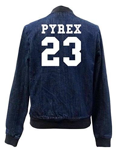 Pyrex Bomber Jeans 23 Freak Chaqueta Girls Certified rnrqRgfTw