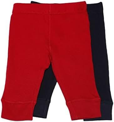 Leveret Solid Baby Crawling Pants & Legging Set (Size 3-24 Months)