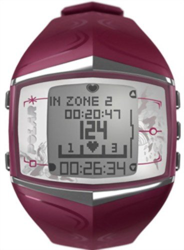 - Polar FT60 Women's Heart Rate Monitor Watch (Purple)