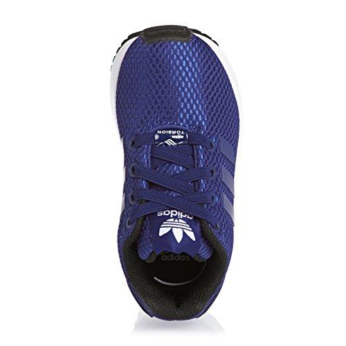 El I Sportive Bambino Zx Blu Flux Adidas Tela Scarpe f1qwxwAFE