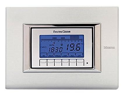 FANTINI COSMI cronotermostato de integrado a pilas para instalaciones de calefacción y climatización ch141 a