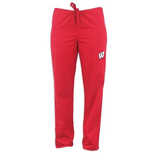 - Wisconsin Badgers Red Scrubs Pants:XS-24-26