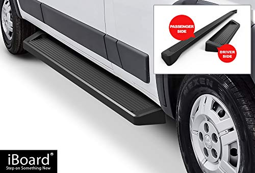 APS iBoard Running Boards (Nerf Bars Side Steps Step Bars) Compatible with 2014-2019 Dodge ProMaster Full Size Van 136 inches 159 inches Wheelbase (Black Powder Coated Running Board Style) (Best Tube Mods 2019)
