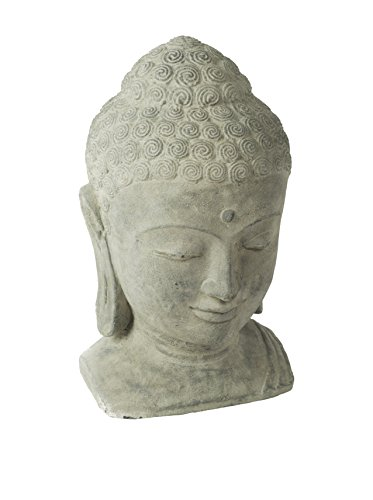 Repose ST10231432 Sovereign Buddha Head Outdoor Statues