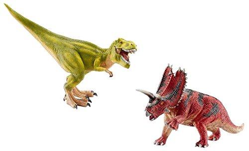 Schleich Tyrannosaurus Rex & Pentaceratops Set