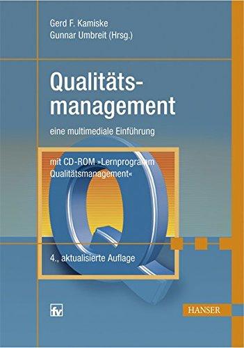 Qualitätsmanagement: eine multimediale Einführung