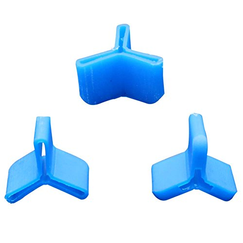 Fishing Treble Hook Safety Cap Cover Bonnets Protector Durable Hook Holder Caps Set 100pcs (100pcs Mixed 5 ()