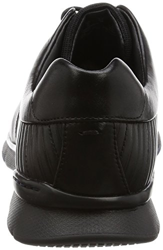 Clarks Herren Tynamo Race Derby Schwarz (Black Leather)