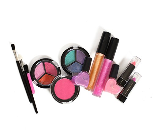 Kids-Washable-Makeup-Set-With-A-Glitter-Cosmetic-Bag