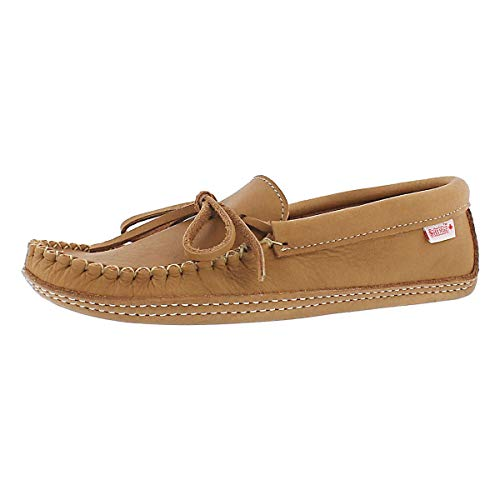 SoftMoc Men's Double Sole Unlined Moccasin Cork 10 M US