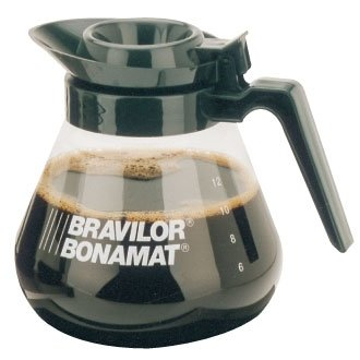 Bravilor Glass Coffee Jug - 1.7 Litre - ideal for use with filter coffee / percolater machines
