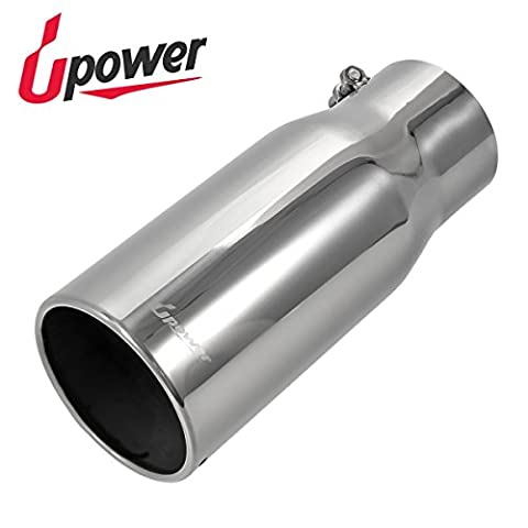Upower Diesel Stainless Steel Bolt On Exhaust Tip 4