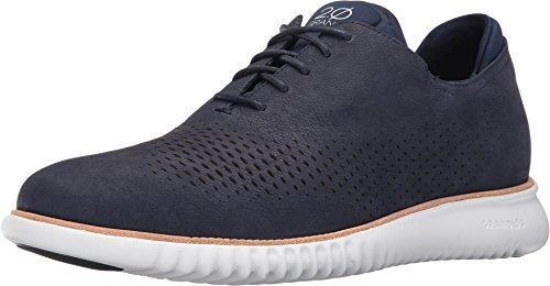 Cole Haan Men's 2.Zerogrand Laser Wing Oxford Marine Blue Nubuck/Optic White 9.5 W US ()