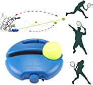 Tennis Baseboard Self-Study, SUNJULY Tennis Ball Trainer Baseboard Player Training Aids Practice Tool Supply w