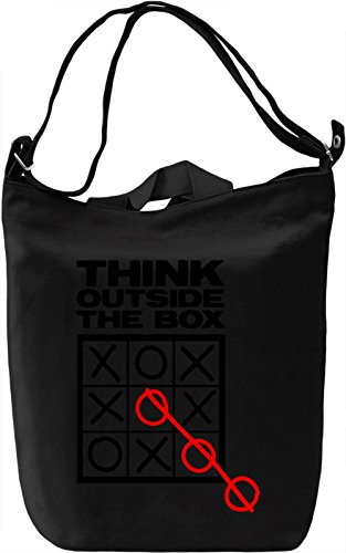 Giornaliera Think Box Printing Canvas The Outside DTG Bag Premium Canvas 100 Canvas Borsa Day Cotton qppAIw