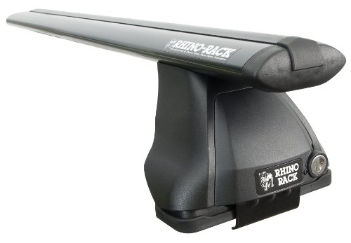 Rhino Rack 2500 Series Aero 2 Bar and Leg Roof Rack Set, 1500mm, (2500 Rhino Rack)