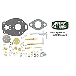JOHN DEERE 1010 TRACTOR MAJOR CARBURETOR KIT MARVE