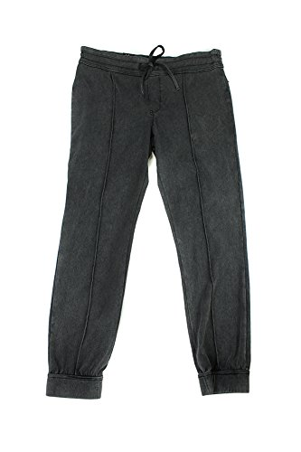 Energie Pants Denim (Energie Radiowave Samantha Seamed Denim Jogger Pants L)