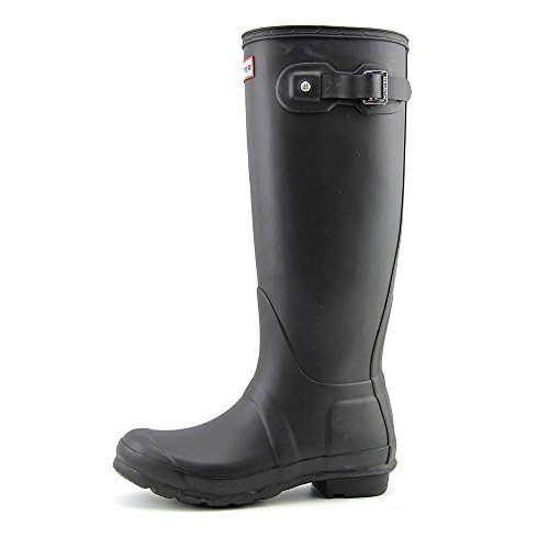 Hunter Original Höga Kvinnor Us 11 Svarta Regn Boot