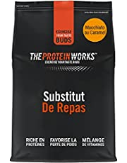 Diet Meal Replacement Shake | Caramel Macchiato | Nutrient Dense Complete Meal | Immunity Boosting Vitamins, Affortable | Healthy And Quick | THE PROTEIN WORKS | 1kg