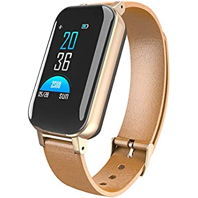 MYIYI Sport Watchbands Smart wristband watchband sport smartwatches for kids sport watchband for Kids Women and Men Pedometers Heart Rate Monitors Heart rate blood pressure waterproof-gold Estimated Price -
