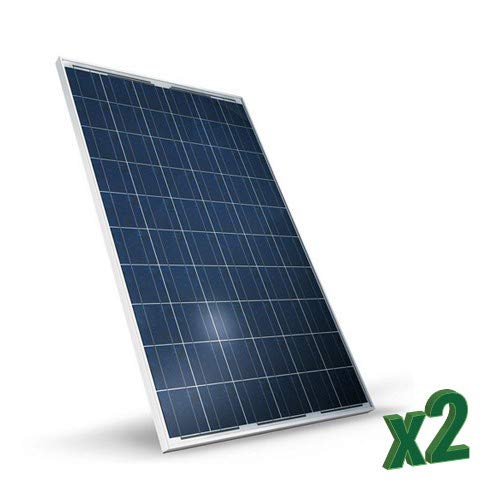 Set of 2 280W Tot 1120W Polycrystalline Photovoltaic Solar Panel ...