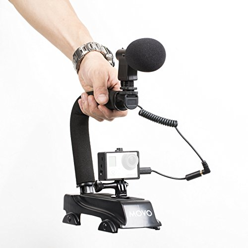 Movo GoPro Video Enhancement Kit with Stabilizer Handle and