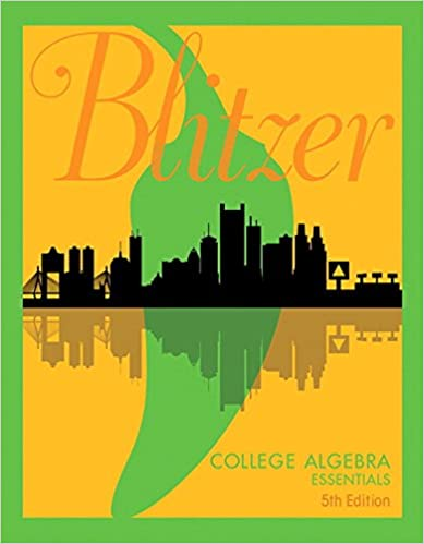 College algebra essentials 5th edition robert f blitzer college algebra essentials 5th edition 5th edition by robert f blitzer fandeluxe Choice Image