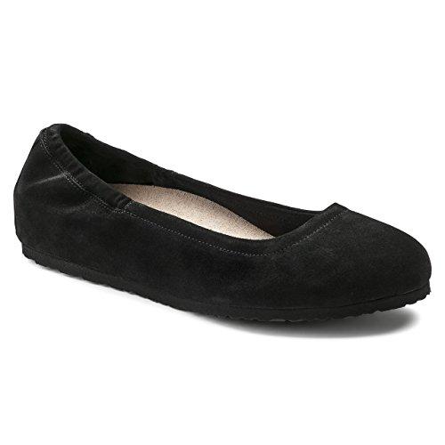 Birkenstock Celina Black Suede Women's Sandals 40 (US Women's 9-9.5)