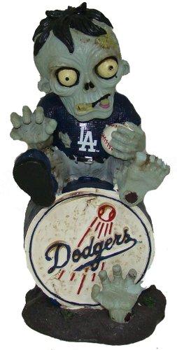 MLB Los Angeles Dodgers Sitting on Logo Zombie, Blue