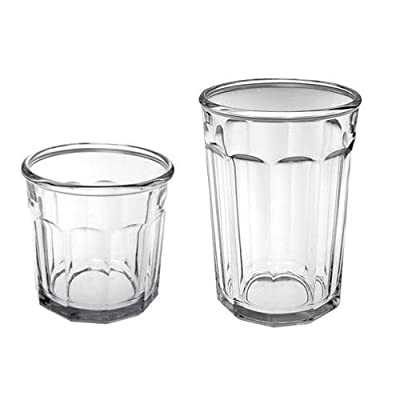 Arc International Luminarc Working Glass 16-Piece Drinkware Set, 8 each Cooler 21 oz. and DOF 14oz - Set of 2