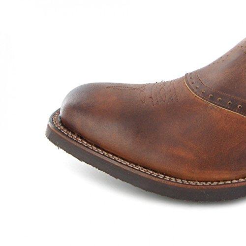 Sendra Stivali Stivali Desna / Sendra 14339 / Marrone Stivali Da Equitazione Con Isolamento Thinsulate / Stivali Da Uomo Tang Marron