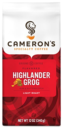 Cameron's Coffee Roasted Ground Coffee Bag, Flavored, Highlander Grog, 12 Ounce (Best Irish Pubs In Boston)