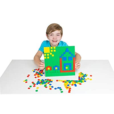 Strictly Briks Classic Bricks 288 Piece 2x2 Blue, Green, Red, and Yellow Pixel Building Creative Play Set - 100% Compatible with All Major Brick Brands - Arts and Crafts: Garden & Outdoor