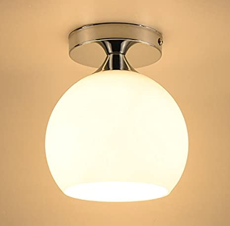 LED lámpara de techo de cristal/cabeza única/moderno Simple ...