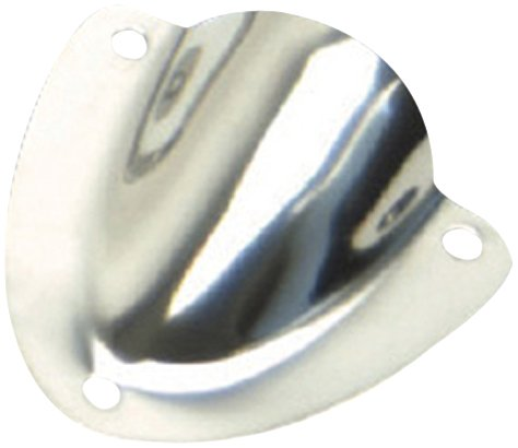 "Whitecap S1390C 2-1/4"" X 2-1/4"" Stainless Steel Clam Shell Vent"