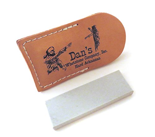Arkansas Sharpening Stone - Genuine Arkansas Hard (Fine) Pocket Knife Sharpening Stone Whetstone 3