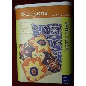 tienda en linea Creativity Kit, Kit, Kit, Curiosity Kits, Batik Pillow by Curiosity Kits  tienda de venta en línea