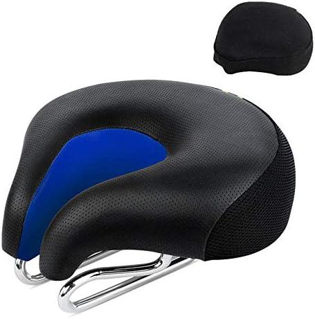 自転車サドル、マウンテンバイク用プロフェッショナルノーズゲルサドル、エルゴノミッククッション、快適で ロードバイク