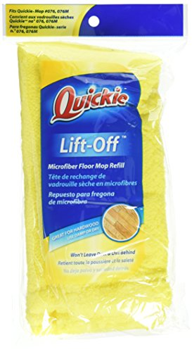 Qck Cloth - Quickie Microfiber Refill for Hardwood Floor Mop