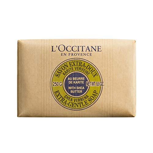 (L'Occitane Extra-Gentle Vegetable Based Soap Enriched with Shea Butter - Verbena, Net Wt. 8.8 oz.)